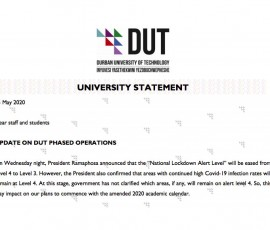university statement 19