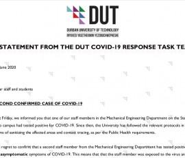 DUT COVID-19 Response
