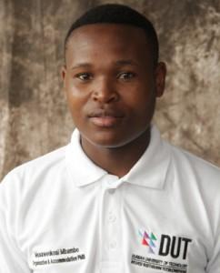 Musawenkosi Mbambo,Organisation&Accommodation (PMB)