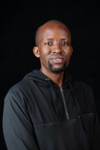 Khaya Mchunu holding