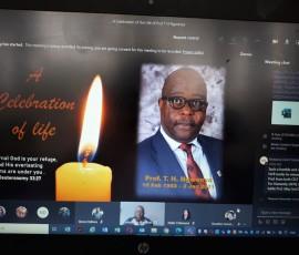 Prof Ngwenya Memorial Service