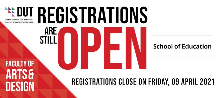 DUT- First-Year Applications-arts&design web banner