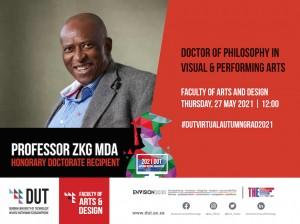Professor ZKG Mda Honorary Doctorate Recipient